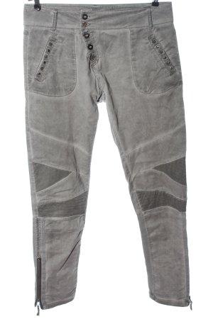 Cream Jeans da motociclista grigio chiaro stile casual