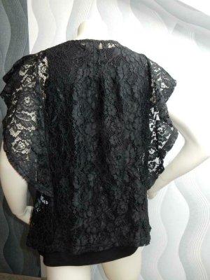 Cream Bluse,Tunika aus wunderschöne spitze in Gr XL aber eher passend bei Gr M- L.