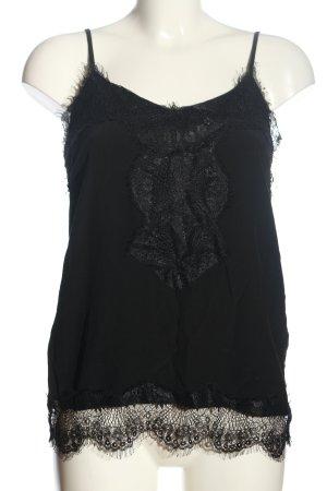 Cream Camisole zwart casual uitstraling