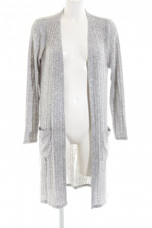 Cream Cardigan hellgrau meliert Casual-Look