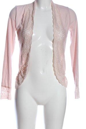 Cream Cardigan pink Casual-Look