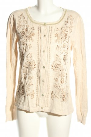 Cream Cardigan creme meliert Casual-Look