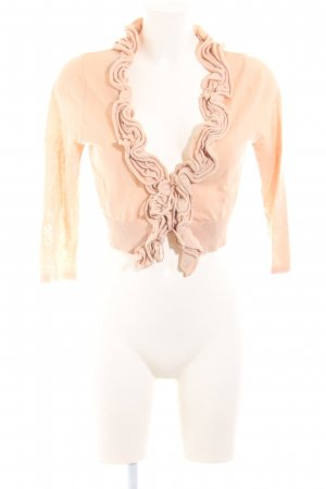 Cream Cardigan nude Casual-Look