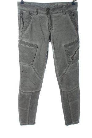 Cream Cargo Pants light grey casual look