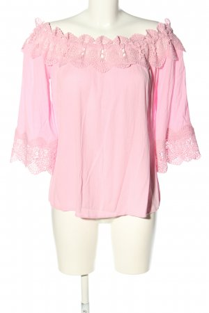Cream Carmen-Bluse pink Casual-Look