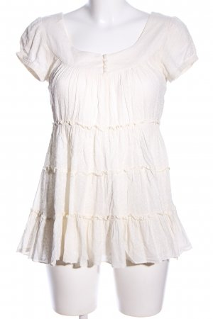 Cream Blusenkleid wollweiß Casual-Look