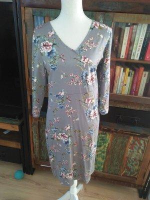 Cream Flower Kleid Neu Romantisch L