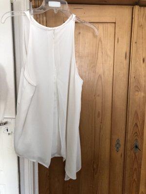H&M Blusa brillante crema