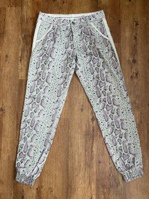 Cream Pantalone alla turca grigio chiaro-rosa antico