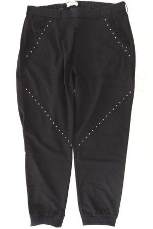 Cream Pantalón negro