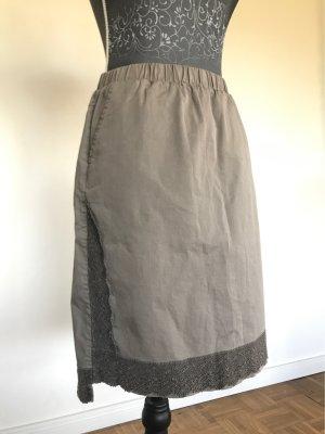 Cream High Waist Skirt multicolored