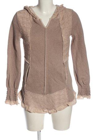 Cream Bluza z kapturem różowy W stylu casual