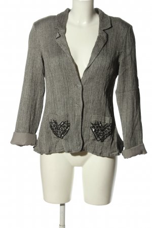 Cream Kurz-Blazer hellgrau Casual-Look
