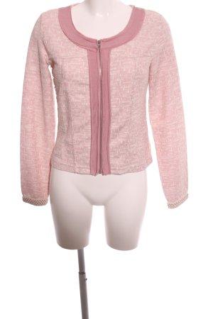 Cream Kurzjacke pink-creme Allover-Druck Casual-Look