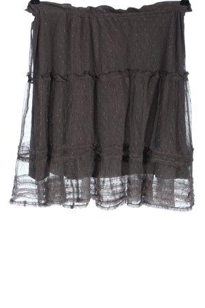 Cream Minifalda gris claro estampado repetido sobre toda la superficie