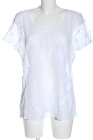 Cream Netzshirt weiß Casual-Look