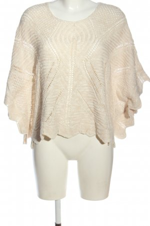 Cream Oversized Pullover wollweiß Casual-Look
