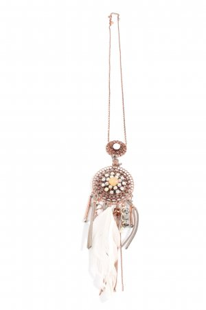 Cream & Rouge Collier oro elegante