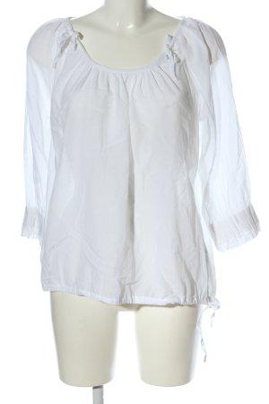 Cream Schlupf-Bluse weiß Casual-Look