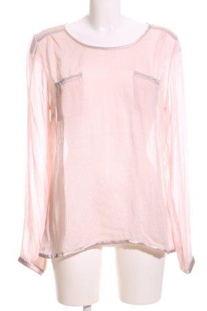 Cream Schlupf-Bluse pink Business-Look