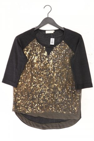 Cream T-Shirt black polyester