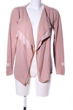 Cream Giacca-camicia rosa stile casual