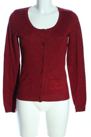 Cream Kurtka o kroju koszulki czerwony W stylu casual