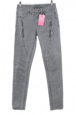 Cream Skinny Jeans grau Casual-Look