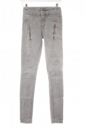 Cream Skinny Jeans hellgrau Casual-Look