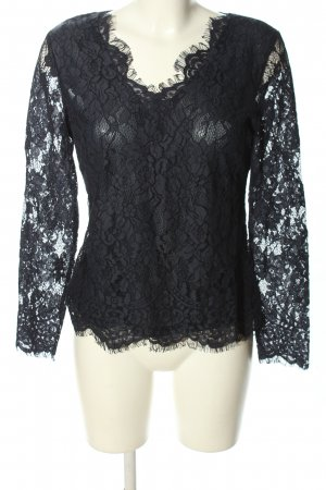 Cream Spitzenbluse schwarz Elegant