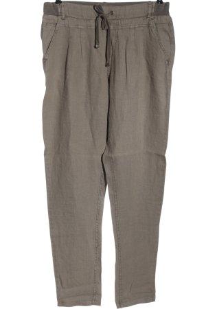 Cream Jersey Pants light grey elegant