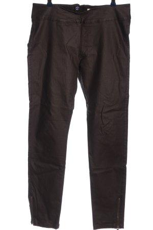 Cream Jersey Pants brown casual look