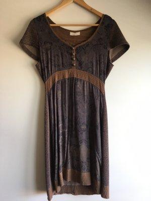 ❤️CREAM❤️ süßes Kleid Gr. S/ 36 blau braun