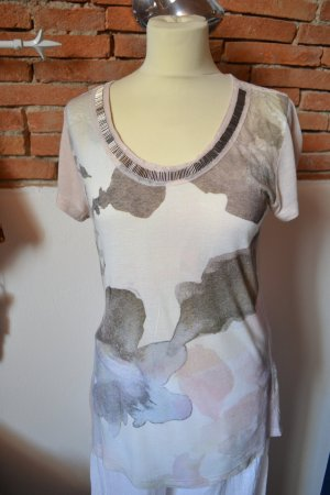 Cream Camicia lunga crema Viscosa