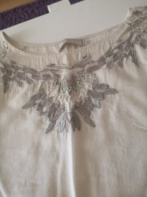 cream t-shirt Bluse Neuwertig 38 m