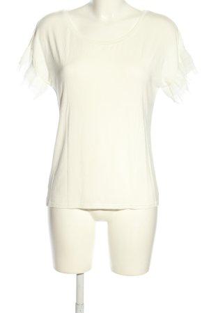 Cream T-Shirt weiß Casual-Look