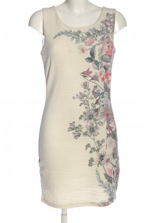 Cream Trägerkleid Blumenmuster Casual-Look