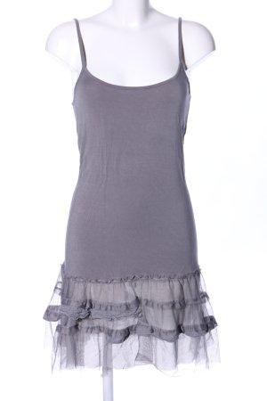 Cream Fond de robe gris clair style décontracté