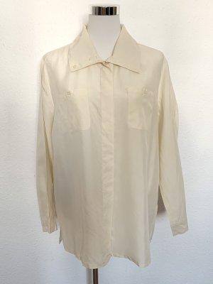Best Connections Silk Blouse cream-oatmeal