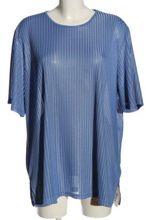 Création Atelier GJ T-Shirt blue casual look