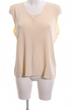 Creation Atelier GS Blusentop nude Casual-Look