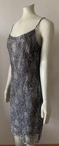 Chou Chou Evening Dress silver-colored-light grey