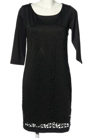 Creation L. Sheath Dress black graphic pattern casual look