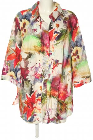 Creation L. Shirt Blouse abstract pattern casual look