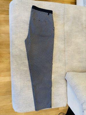 Creation L. Jersey Pants white-dark blue