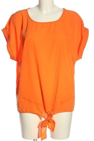 Creation L. Short Sleeved Blouse light orange casual look