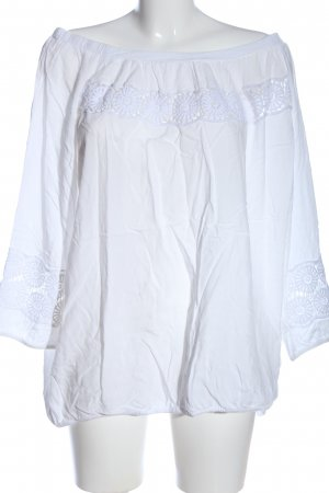 Creation L. Long Sleeve Blouse white casual look