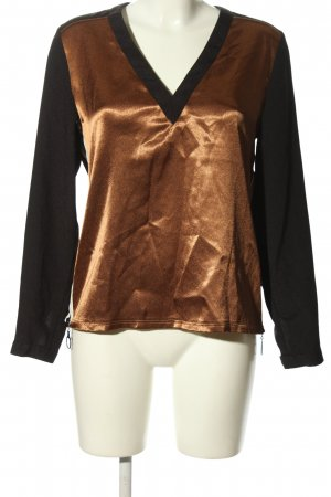 Creation L. Long Sleeve Blouse gold-colored-black casual look