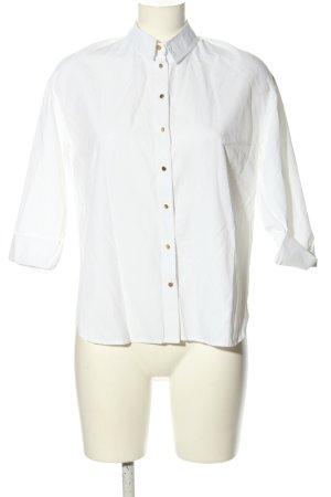 Creation L. Bluzka oversize biały W stylu casual