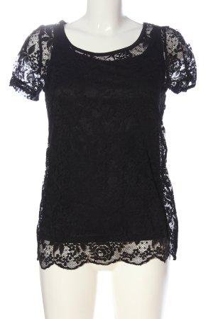 Creation L. Lace Blouse black elegant